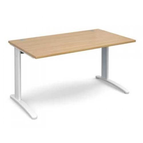 office desk legs. Exellent Legs Rectangular White Cantilever Leg Office Desk 800mm Deep In Oak Intended Legs E